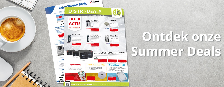 Distri-Deals: juli - augustus - september